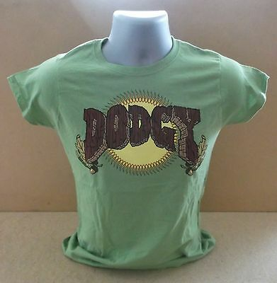 DODGY Stand Upright In A Cool Place ltd ladies short sleeve T shirt UNWORN Med