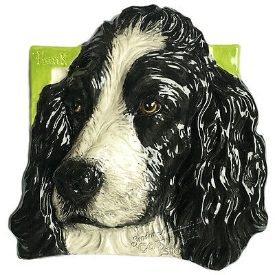 English Springer Spaniel Dog Tile Ceramic Semi-Custom Send Picture Alexander Art