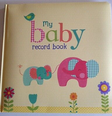 My Baby Memory Record Book Boy Girl  Unisex Brand New Gift hardcover First Year