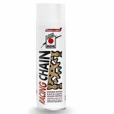 Ipone racing chain lube white for road off road dirt mx 500ml