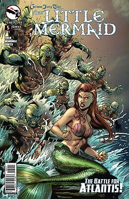 FN Zenescope Grimm Fairy Tales Presents : The Little Mermaid #3 3B cover