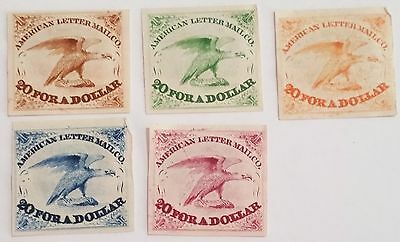 Am. Letter Co. Trail   Unused/h  Stamps  ...u.s Stamps