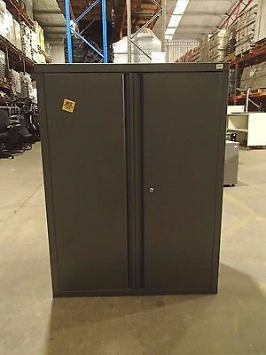 Half Height Storage/Stationary Cabinet Grey Steel 33732/1-7