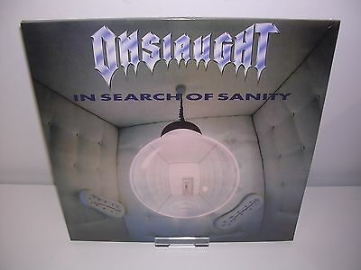 Rsd 2017: Onslaught - In Search Of Sanity Ltd 2Lp Mint/sealed