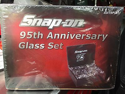 SNAP ON TOOLS 95th ANNIVERSARY GLASS SET