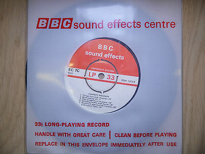 "BBC Sound Effects 7"" Record - Comedy Sounds, Dropped Stove, Used on Goon Show"