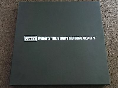 OASIS - What's The Story(UK 2014 LTD EDITION VINYL BOX SET / MINT!!!!)