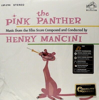 THE PINK PANTHER - ANALOGUE PRODUCTIONS - APP-2795-45  2LP  Henry MANCINI 200G