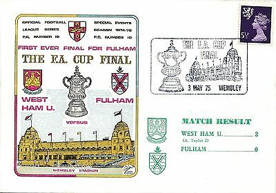 FDC - FA CUP FINAL 1975 West Ham United v Fulham