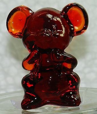Boyd Glass Willie the Mouse Cardinal Red 1992