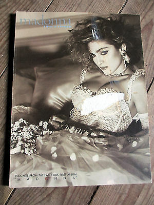 Madonna Like A Virgin Chord Song Book Vintage 80s Rare Songbook Vintage 1980s