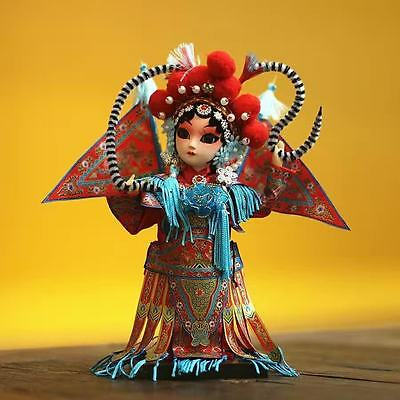 Handmade Chinese Resin Folk Doll Toys Exquisite Handicraft Oriental Figurines