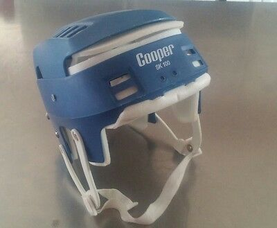Hurling helmet SK-100 Cooper Small Sr size Blue color
