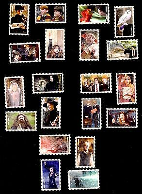 2014 #4825-4844 Forever Harry Potter Used Set of 20 USA