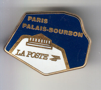Rare Pins Pin's .. Ptt La Poste France Telecom Palais Bourbon Paris Tosca 75 ~By
