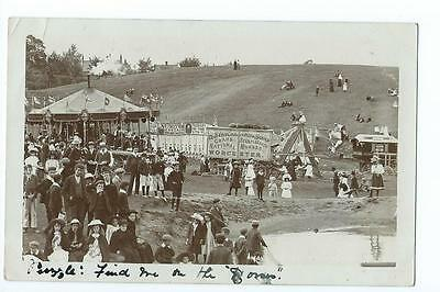 Worcesteshire RP a fair on  Malvern Link Common   PU 1905