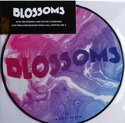 """Blossoms Live....picture Disc Limited 10"""" Vinyl Rsd 2017  New & Sealed"""