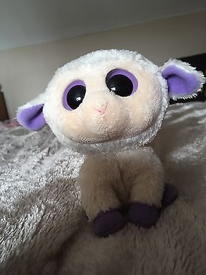 TY BEANIE BOO - CLOVER THE LAMB Toy 2013 Excellent