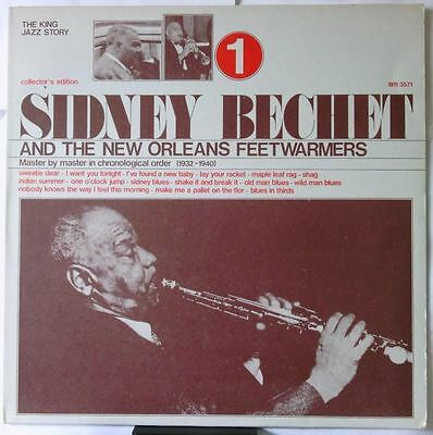 And The New Orleans Feetwarmers Vol 1 (Italy 1974)  by Sidney Bechet