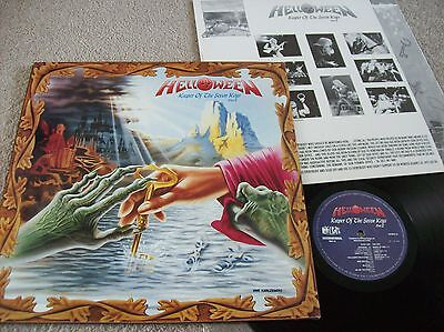 Helloween - Keeper Of The Seven Keys Part Ii Vinyl Lp (1988) Nuk 117