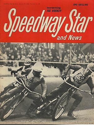 1965 2 APRIL 51174 Speedway Star and News BACK COVER JAMES BOND WOLVERHAMPTON