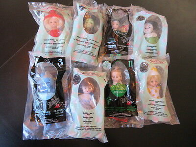 8 Different New Sealed Madame Alexander Wizard Of Oz Mcdonald's Dolls