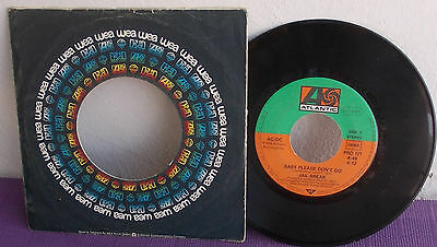 "Ac/dc ""baby Please Don't Go"" Raro Disco Promo 45 Giri 7"" - 3 Tracks 1976 Germany"