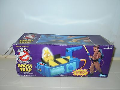 1986 Real Ghostbusters Kenner Ghost Trap Toy In Opened Box