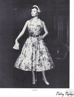 1937 CHARMANT MANNEQUIN Display Photo Advertising M374W Classic Vintage Fashion