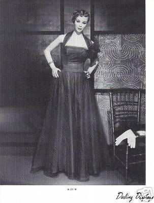 1937 CHARMANT MANNEQUIN Display Photo Advertising M371W Classic Vintage Fashion