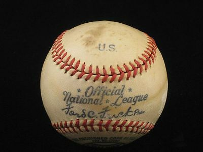 1947-1948 Spalding Official National League / US (Military) Ford Frick Baseball