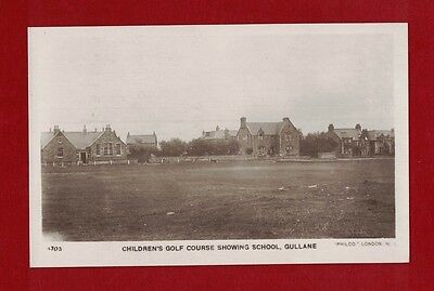 Great Britain Golf Early Vintage Postcard from Gullane - GB. mint