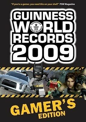 Guinness World Records Gamer's Edition 2009, , New Book