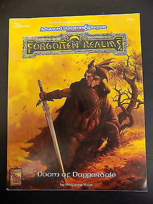 AD&D DOOM OF DAGGERDALE Forgotten Realms Module level 1 - 3 TSR 14568