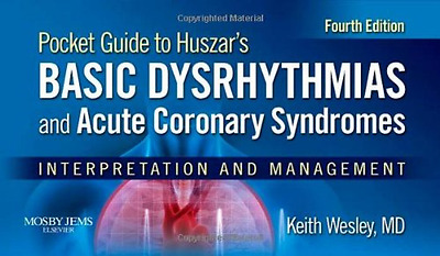 Pocket Guide for Huszar's Basic Dysrhythmias and Acute  - Paperback NEW Keith We