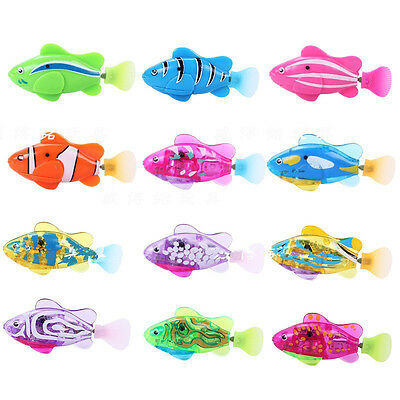 Adorable Swimming Robofish Activated Battery Powered Robo Fish Toy Robotic Fish