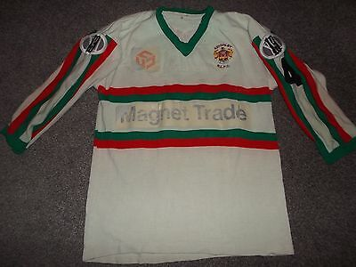 Vintage Keighley Rugby League Match Worn Player Shirt