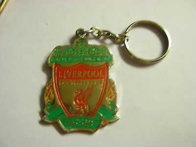 Liverpool FC metal Keyring. Team badge coloured design. Y.N.W.A.  AO