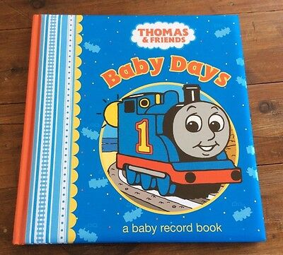 1 xMy Baby Record Book Boy Thomas The Tank Engine Gift Memory Journal Brand New
