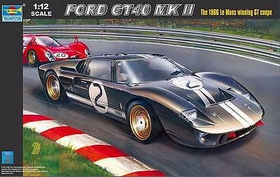 TRUMPETER® 05403 Ford GT Mk.II (Le Mans 1966) in 1:12