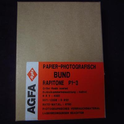 Agfa 13x18 altes Fotopapier / Photo paper