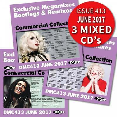 DMC Commercial Collection 413 Club Hits Mixes & Two Trackers DJ Triple Music CD