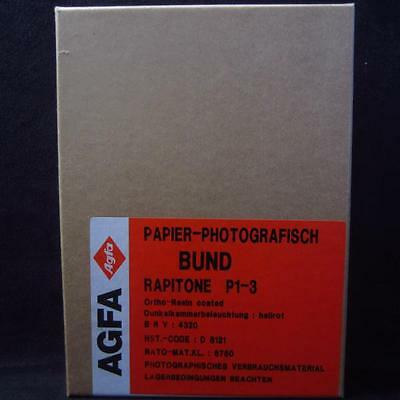 Agfa 13x18 altes Fotopapier / Photo paper (334)