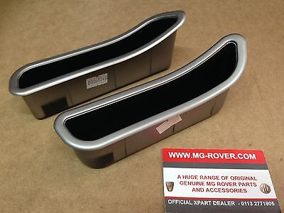 Mg Rover Mgf Tf Interior Door Pull Handle Silver Finish Eje100260 Eje100270