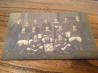 Old Postcard B.t.c Football Team 1907-8-9