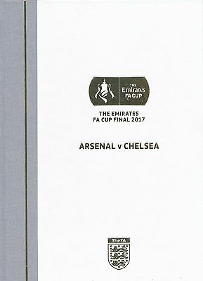FA CUP FINAL 2017 Chelsea v Arsenal - VIP HARDBACK issue
