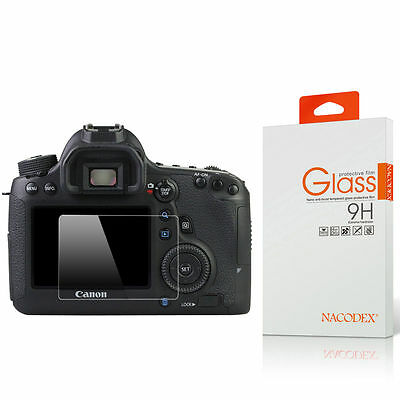 Nacodex HD Tempered Glass Screen Protector For Canon EOS 6D / Canon 6D