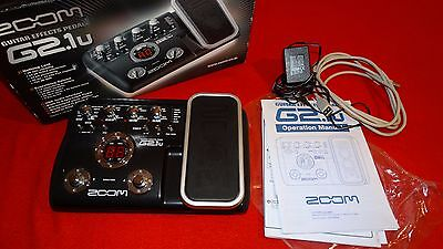 Zoom G2.1U Guitar Multi Effects Pedal  *ovp*