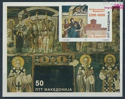makedonien block4 unmounted mint / never hinged 1995 Frescoes (8610117