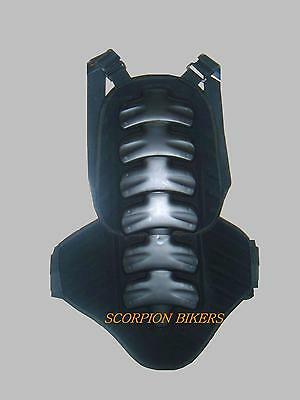 Motorcycle Motocross Back Spine Protector Body Armour M